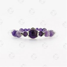 Birthstone Bracelet for February