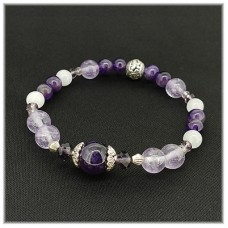 Birthstone Bracelet for February <New>