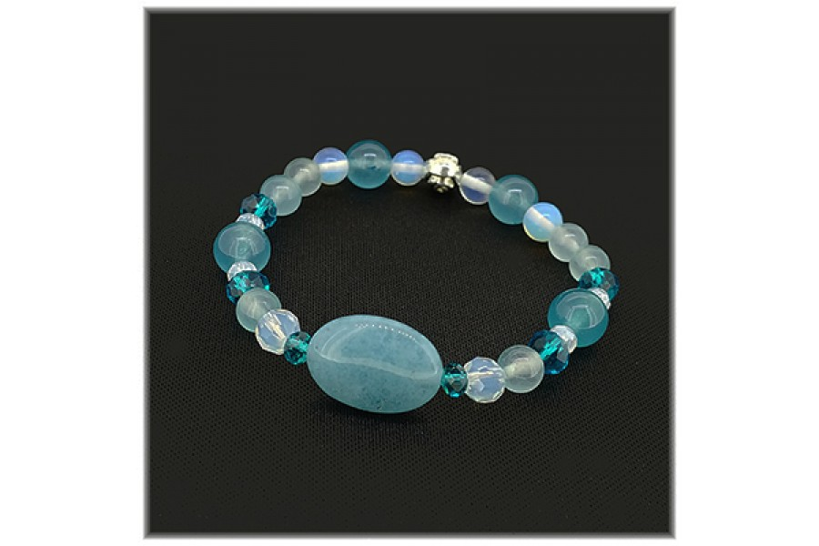 Birthstone Bracelet for March <New>