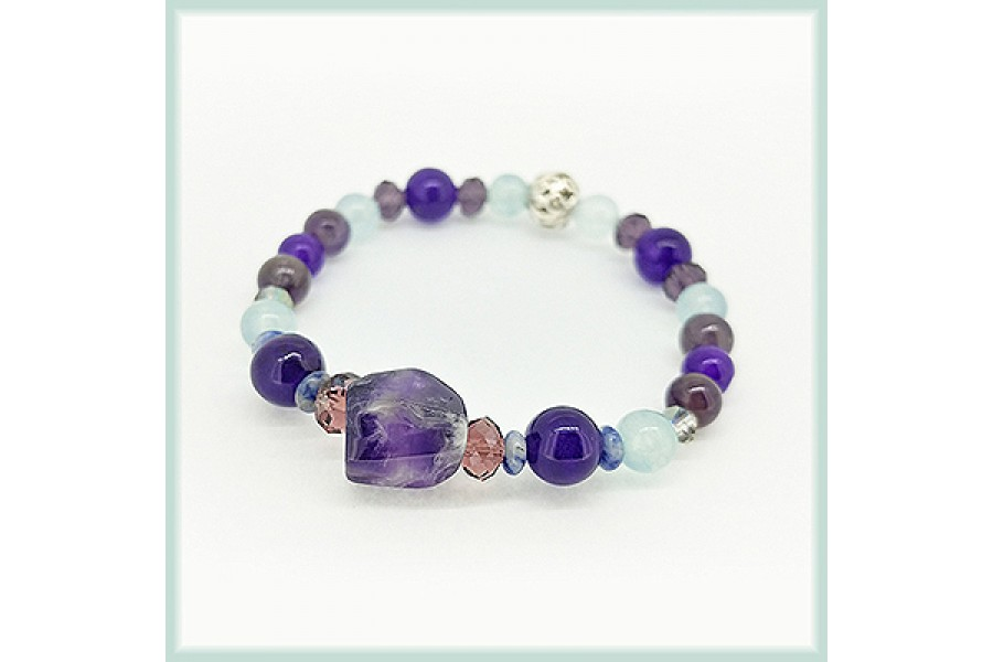 6th Chakra  Third Eye Bracelet <New>