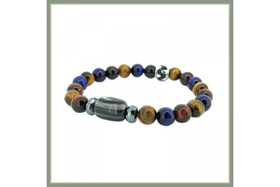 Healing Men Bracelet for Good Luck <New>