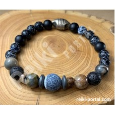 Healing Men's Bracelet for Inner Calm <New>